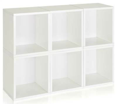 Storage Cube Plus in White - Set of 6 [ID 133043]