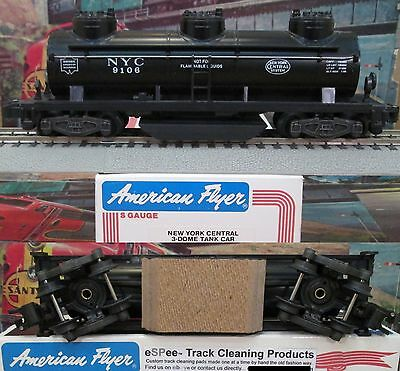 eSPee TRACK CLEANING TANK CAR - American Flyer - New York Central - S Scale