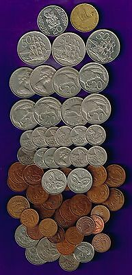 New Zealand - Mixed current set for Travellers/Collectors incl new legends coins