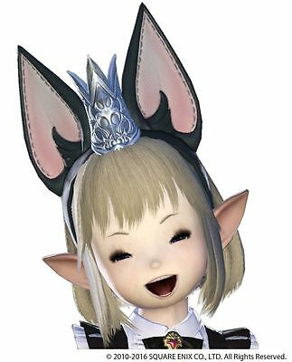 Final Fantasy XIV 14 Cait Sith Ears DLC Digital Code only UK/EU/US version