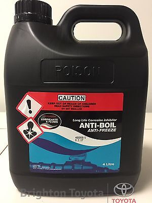 New Genuine Toyota Longlife Coolant 4 LT Red Concentrate Part 0888980086