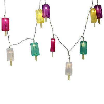 Temerity Jones Ice Lolly Battery Operated Indoor Holiday Party String LED Lights