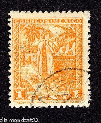 Mexico 1c Orange Unknown stamp GOOD Used R27577