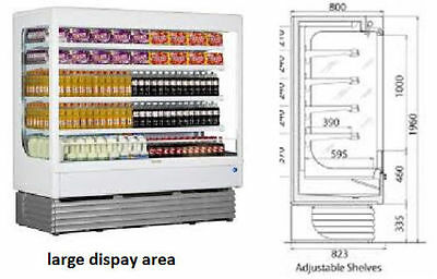 Chiller Refrigerated display Shelly 180 Italy Made 1.8M by 1.8M double face 4SLF