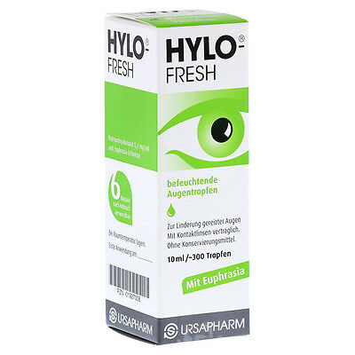 Hylo Fresh Eye Drops for irritation and redness eyes 7.5ml (Contact lens safe)