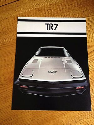 1977 Triumph Tr7 Sales Brochure, Original Item Not A Re-Print
