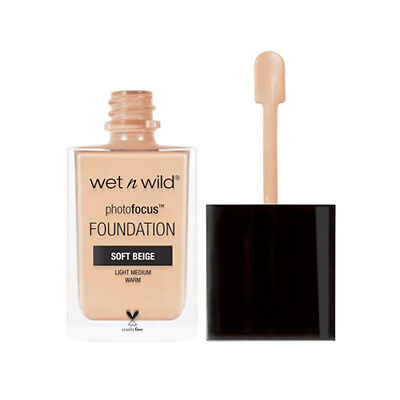 WET N WILD Photo Focus Foundation - Soft Beige (Free Ship)