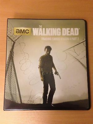 Walking Dead Season 4 Part 2 Official Cryptozoic Binder