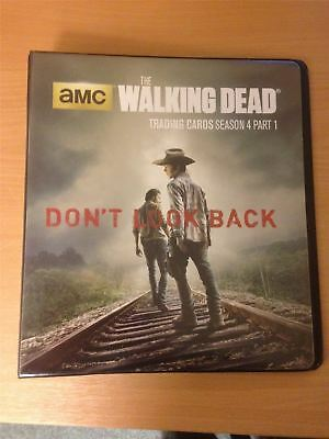 Walking Dead Season 4 Part 1 Official Cryptozoic Binder