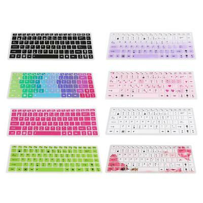 Slim Silicone Laptop Keyboard Skin Protector Cover for ASUS K40 P80 P81