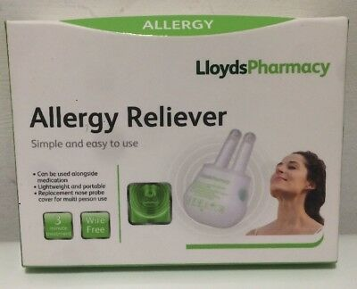 LLOYDS PHARMACY Allergy Reliever Simple And Easy To Use New Red Light Therapy