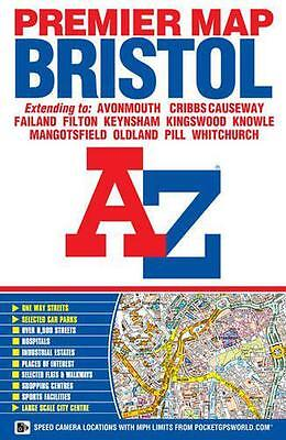 A-Z Bristol Premier Map by Geographers A-Z | Map Book | 9781782570752 | NEW