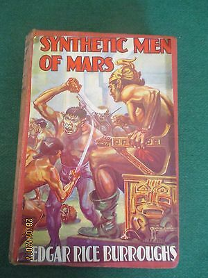 The Synthetic Men of Mars by Edgar Rice Burroughs (Hardback)