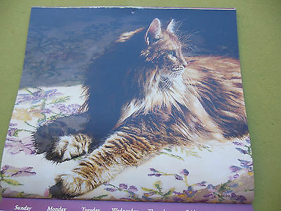 Cats We Love 2014 Calendar with art by Sueelllen Ross