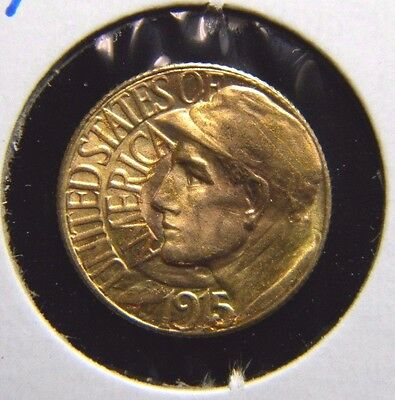 1915-S Panam-Pacific Expo $1 Gold Piece***choice About Uncirculated***coo