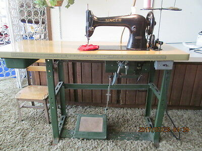 INDUSTRIAL SINGER SEWING MACHINE #31-15 Textile & Apparel LOCAL PICK UP ONLY