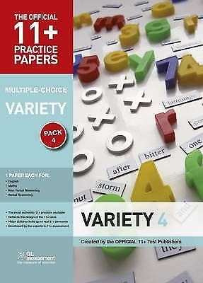 11+ Practice Papers, Variety Pack 4, Multiple Choice, GL Assessment