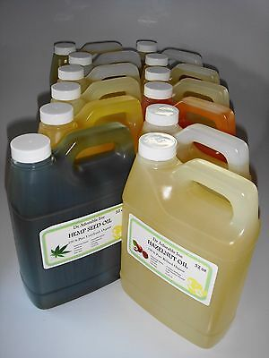 Organic Carrier Oils in Ready to Use Glass Vials Bottles Just add Essential Oils