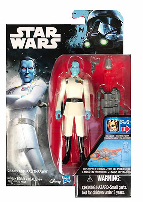 """Star Wars Rogue One Grand Admiral Thrawn (Yellow Insignia Variant) 3,75"""""""