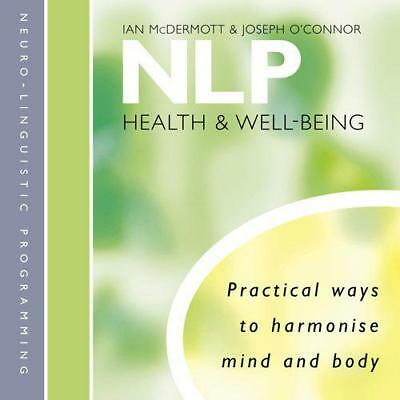 NLP: Health and Well-Being by Ian McDermott, Joseph O'Connor   Audio CD Book   9