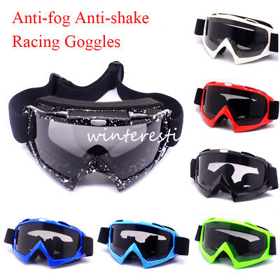 Adult Motorcycle Motocross Off Road Racing Anti-UV Goggles MX Dirt Bike  Eyewear