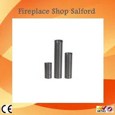 "4 inch 5"" & 6 inch Black stove pipe enamelled Flue Pipes"