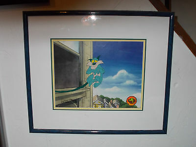 ROBIN WILLIAMS VOICED Chuck Jones signed Mrs. Doubtfire  Original prod cel