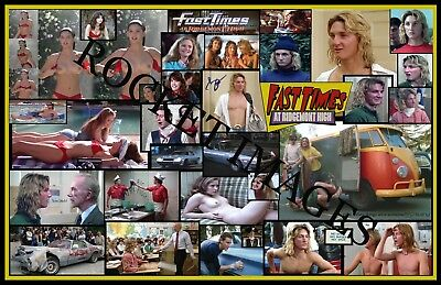 FAST TIMES AT RIDGEMONT HIGH 1982! 11x17 Poster Buy 2 Posters Get 3RD FREE!!!