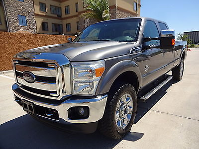 2012 Ford F-350 Lariat 2012 Ford Super Duty F350 Lariat 6.7L Power Stroke Turbo Diesel Engine One Owner