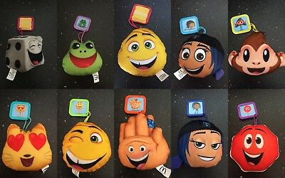 McDonalds Emoji Movie 2017 Happy Meal Toys, All Toys Available. New & Sealed