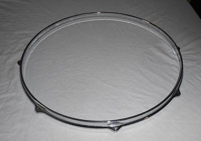 "Vintage Premier 14"" 8 Hole Cast Drum Hoop For Floor  Tom / Snare"