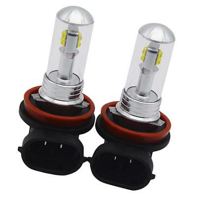 2x Replacement Car H8 H11 LED Fog Driving Light 80W 6000K Lamp Bulb White
