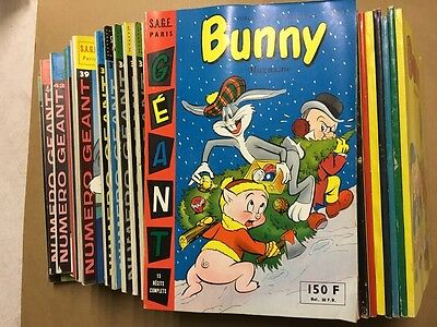 Bunny Magazine Géant - Sagedition - Collection - 1957-69 - NEUF