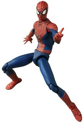 Amazing Spiderman 2 Movie - Spiderman Mafex Deluxe Action Figure Set