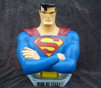 Superman Warner Brothers DC Comics WB Statue Bust Maquette Animated Series