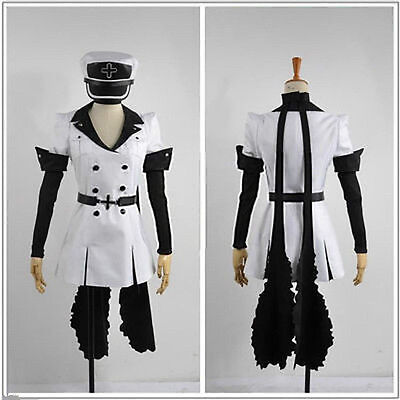 Akame ga KILL! Esdese/Esdeath Cosplay Costume Army Uniform S-XL Custom-made