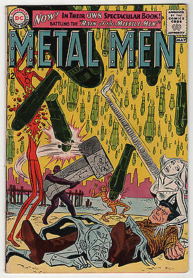 Metal Men #1 solid 1963 early DC Silver Age 1st issue & 5th appearance