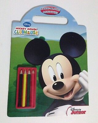 Disney Junior Mickey Mouse Clubhouse Carry- Along Activity Book BN