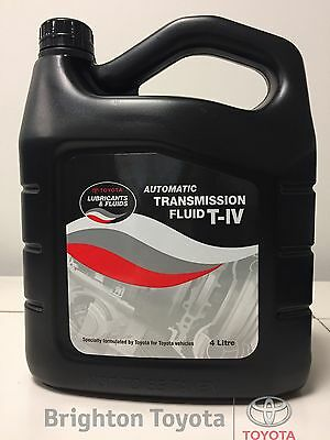 New Genuine Toyota ATF 4 LTR T-IV Transmission Fluid oil T4 Part 0888681120