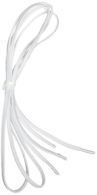 Elasticated Shoelaces [Pack Of 2] White. Mobility Aid. 61cm