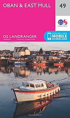 Landranger (49) Oban & East Mull (OS Landranger Map) by Ordnance Survey | Map Bo