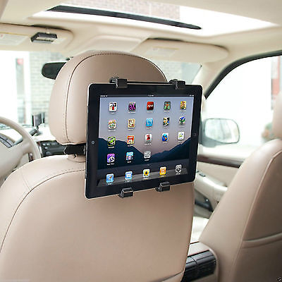 """Universal Headrest Seat Car Holder Mount for iPad & mini Air & 10inch"""" Tablets"""