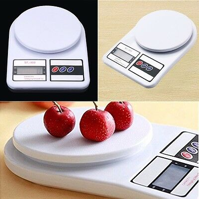 1-10kg/0.1-1g Digital LCD Electronic Kitchen Scale Food Weighing Postal Scales