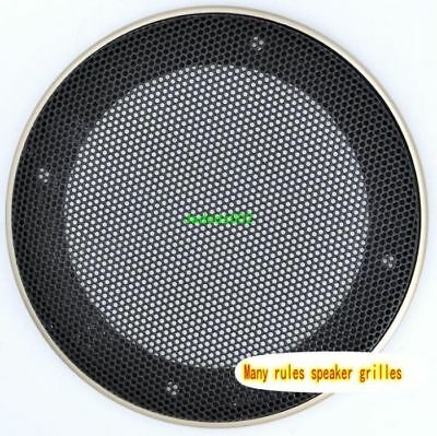 """1pcs 4""""-10""""inch speaker grille Car horn protective cover Decorative circle"""