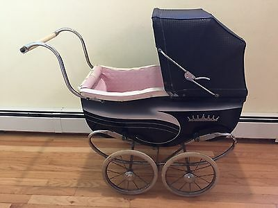Rare Vintage Antique Baby Carriage Stroller