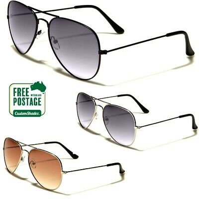 Air Force Aviator Series Sunglasses - Gradient Lens - Men's / Women's - Pilot
