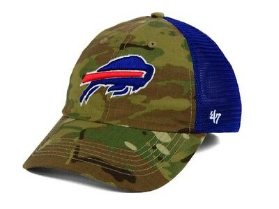 NEW  47 BRAND Buffalo Bills Youth Casanova MVP Hat Cap Adjustable ... f09436ae0