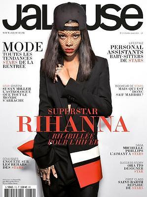 Rihanna Jalouse Magazine France July 2014 French Mag