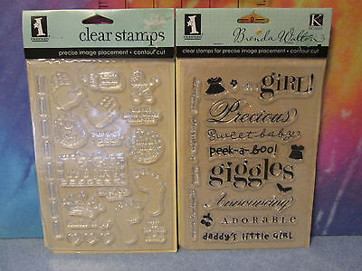 Clear Stamps Sets Different Brands, NEW In Package, You Pick Yours