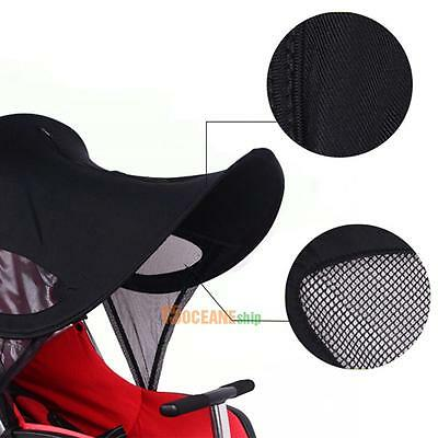 Baby Stroller Pushchair Pram Buggy Sun Ray Shade Universal Folding Canopy Cover